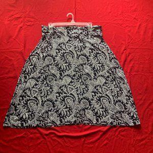 💜 2/$35 Floral Midi Skirt